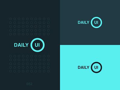 DailyUI #052 DailyUI Logo web digital website uxdesign ux clean branding brand minimal daily ui 052 052 design logo design logo uidesign ui dailyui jrdickie