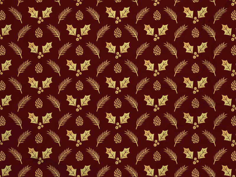Red   gold wrapping paper mock