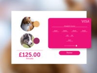 DailyUI #002 Checkout Payment