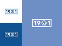 1901 - Football Badge