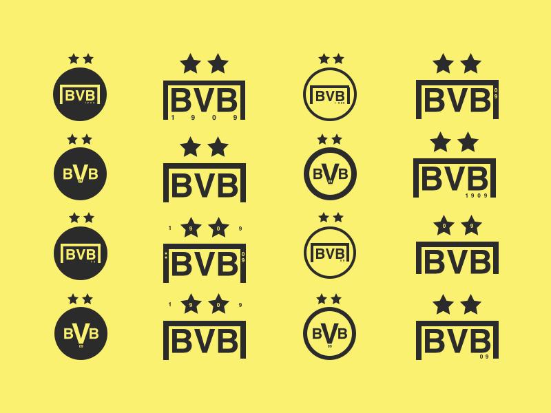 Borussia Dortmund Logo Concepts By J R Dickie On Dribbble