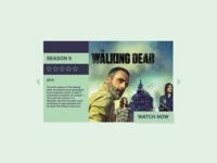 DailyUI #025 TV App