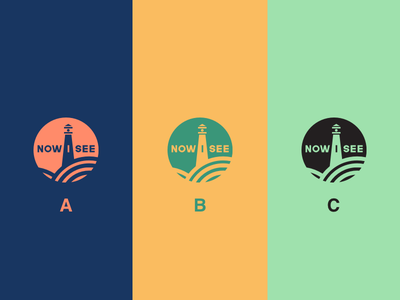 Final Three Colours data clean greens colours health invert research vote animals fields lighthouse vegan vector illustration brand icon logo branding design jrdickie