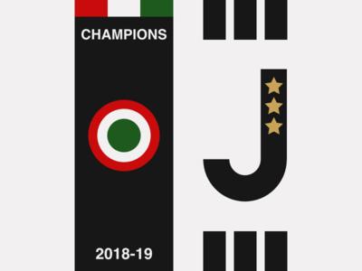 Juventus 2018-19 Champions