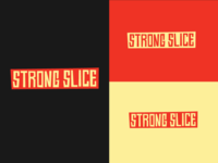 Strong Slice Font