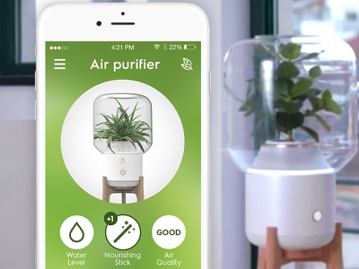 Air purifier - smart home smart home iot app internet of things