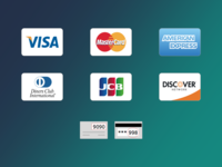 Credit Card Icons Freebie