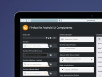 Firefox For Android Pattern Library ui component styleguide firefox library pattern android