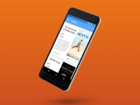 Concept: Movie Clipboard App mozilla android material design card movies film movie