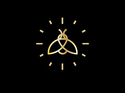 firefly light gold mark logo firefly