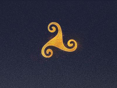 Old Mystic Symbol symbol mystic triskelion