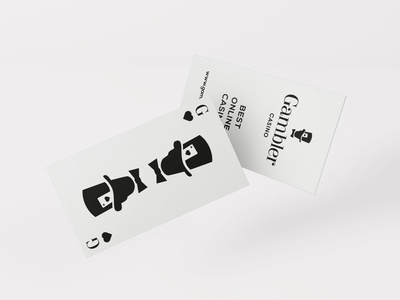 Gambler Casino business card