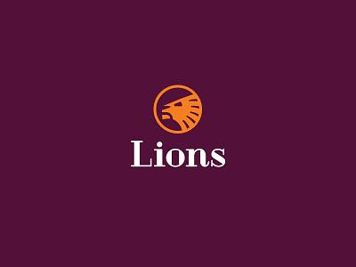 lions logo lion