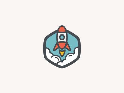 Rocket Badge