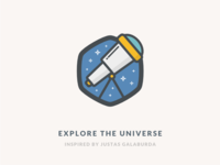 Explore The Universe Icon