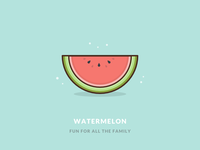A humble watermelon