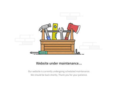 Under Maintenance Page
