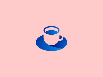 Coffee Cup coffee mark logo