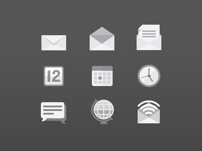 Some Icons In Progress