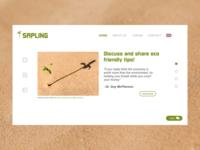 Sapling website