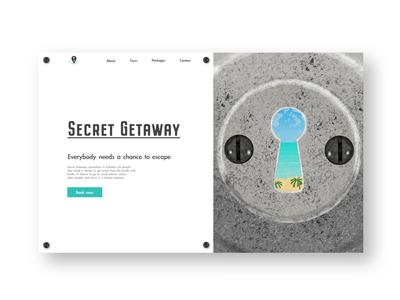 Secret Getaway Concept