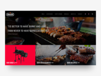 Buccan BBQ - Website Design