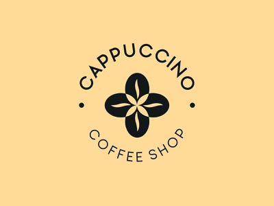 Cappuccino Coffee Shop graphicdesigner logo designer coffee coffee shop branding graphicdesign design logo