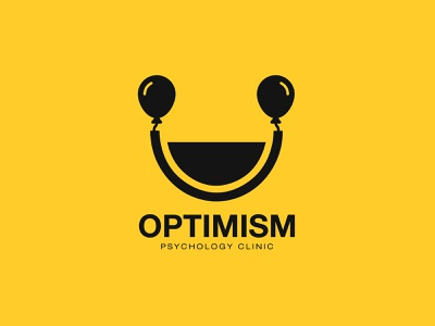 Psychology Clinic logo designer for hire optimism psychology clinic psychology logo designer startup corporateidentity identity branding graphicdesign design logo
