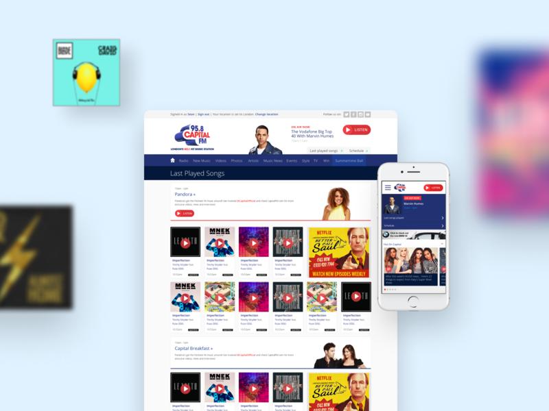 Capital FM website