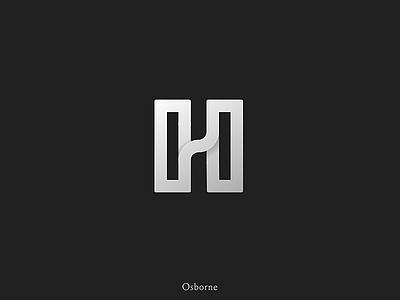 Letter H Logo Mark typographic type brand strategy black and white brand identity minimal logo icon brand branding