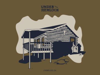 Cabin Under the Hemlock