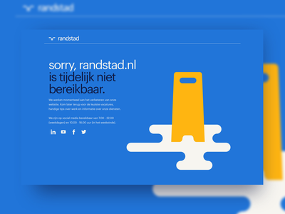 500 error page modernism visual design ux illustration error 500 design incentro randstad human forward
