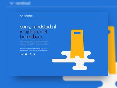 500 error page modernism visual design ux illustration error 500 design incentro randstad human forward