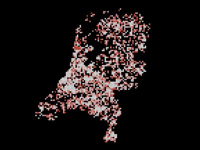 Mapping sentiments illustration datavisualisation the hague lust twitter