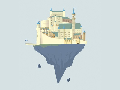 The floating city 🏰