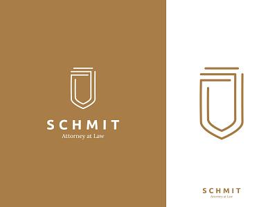 Schmit Logo icon lettering lawyer law identity web flat ui typography logo branding design minimal creative