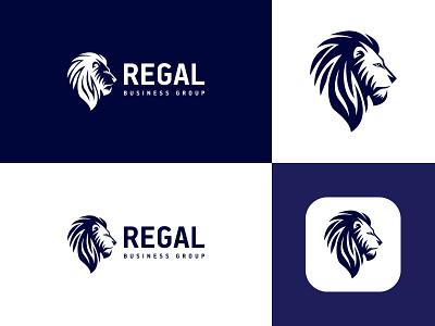 Regal Logo identity flat ui web typography logo branding design minimal creative