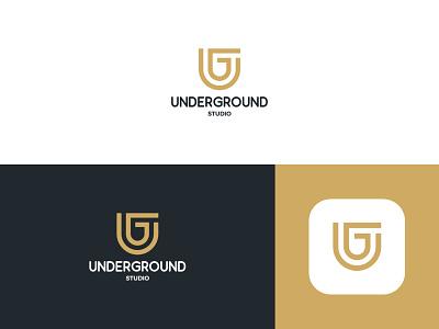 Underground Logo identiy icon flat ux ui web logo branding design minimal creative