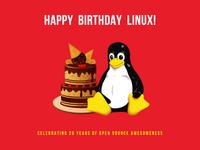 Happy 26th birthday Linux!