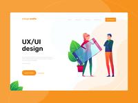 Orange Media Landing Page
