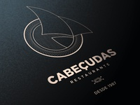 Restaurante Cabeçudas Logo Application