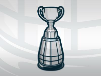 GreyCup football cfl canadian trophy illustration logo sports