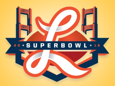 SB: L logos football sports logos superbowl sports sports branding nfl