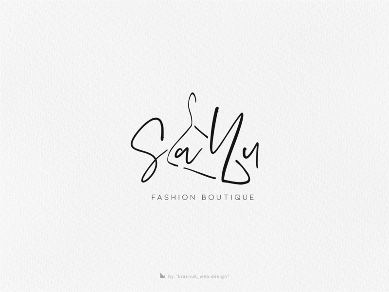 Sa.Yu designer logo designer clever inspiration flat minimal logo fashion art boutique logo boutique fashion illustrator graphic vector logoinspiration graphicdesign design branding logo
