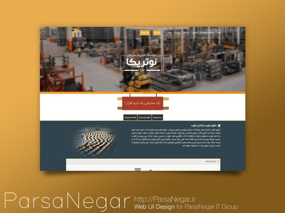 Parsa Negar Website Ui (Pages)
