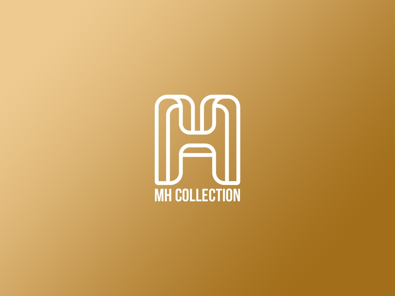 MH Collection Logo branding brand designer visual identity vector illustration logo design