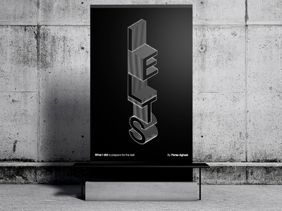 IELTS Poster 3d type 3d typography typography art typographic typo posters poster design poster art english composition typography artwork design poster mockup poster ielts