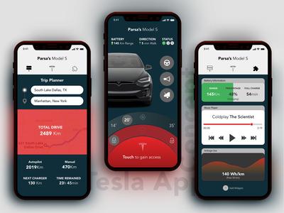 Tesla App Concept