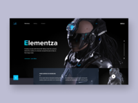 Elementza - concept redesign website
