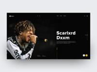 Muzicz - website concept
